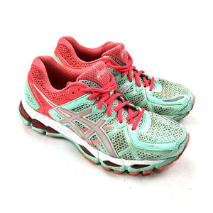 Asics Gel-Kayano 21 T4H7N-Beach Glass Shoe Womens